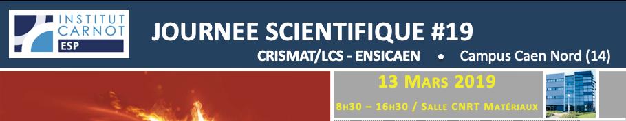 Journée Scientifique de l'Institut Carnot ESP #19