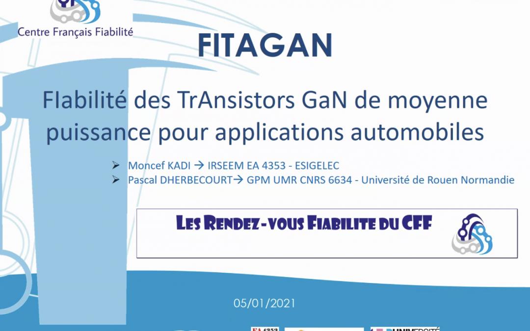 Le projet FITAGAN : FIabilité des TrAnsistors GaN de moyenne puissance pour applications automobiles