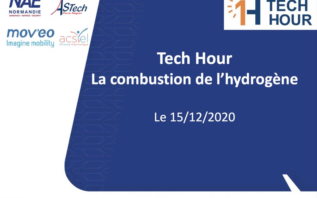 La combustion Hydrogène par David Honoré (CORIA)
