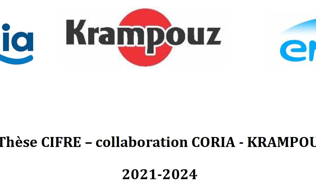 Offre de Thèse CIFRE – collaboration CORIA – KRAMPOUZ – ENGIE 2021-2024